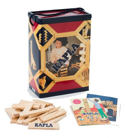 KAPLA 200 Plank Box construction game